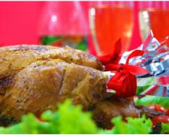 クリスマスディナー画像1