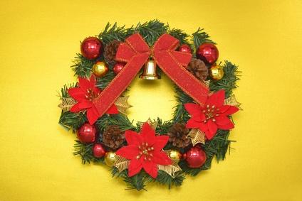 クリスマスリース画像1