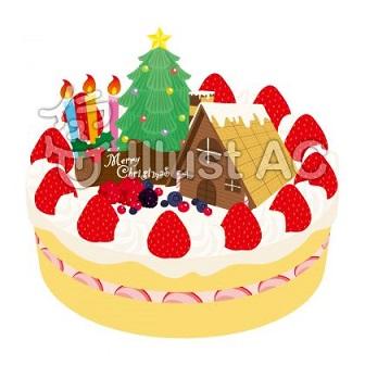 クリスマスケーキ画像2