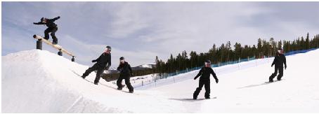 スノーボードビンディング画像1