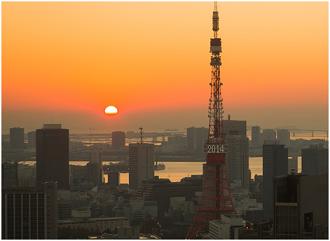 東京初日の出画像1