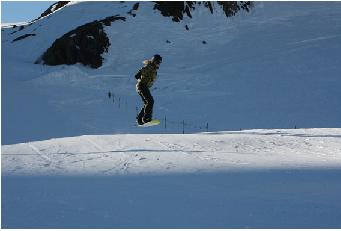 スノーボード中級者画像1