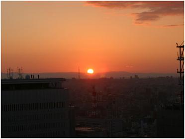 名古屋初日の出画像2