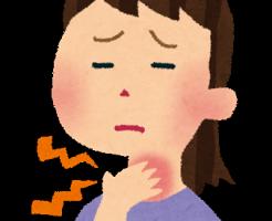 花粉症の症状でのどのかゆみの対処法は?画像1